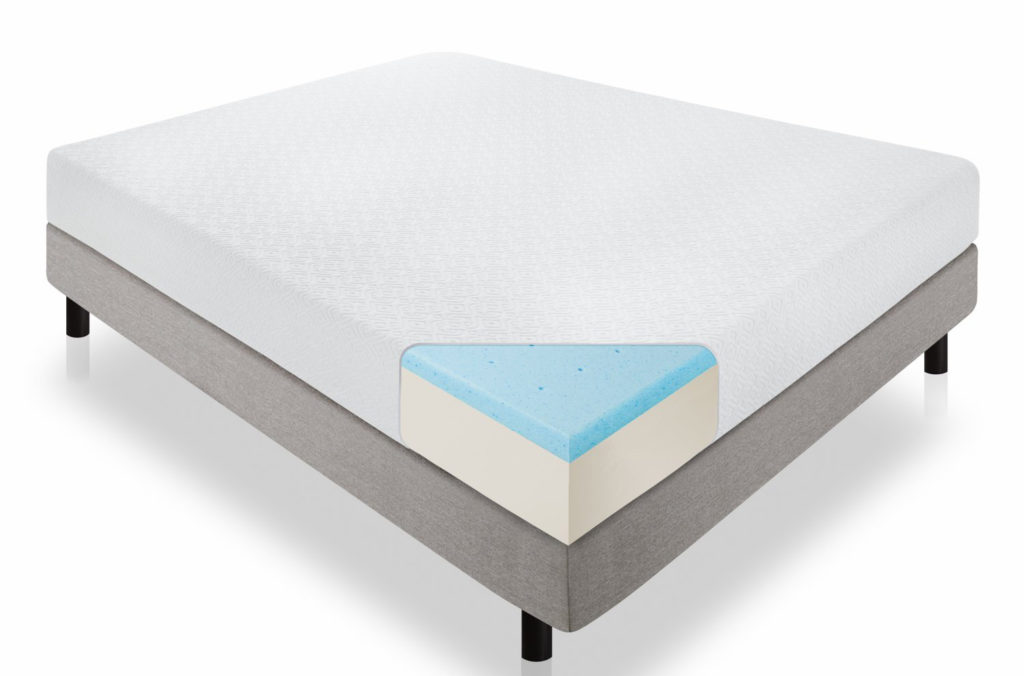 Lucid 10 Inch Gel Memory Foam Dual Layered Mattress Review