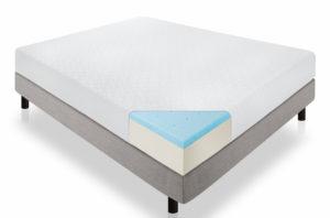 Lucid 10-Inch Gel Memory Foam Dual-Layered Mattress Review