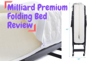 Milliard Premium Folding Bed Review