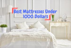 Best Mattresses Under 1000 Dollars