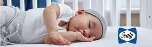 Sealy Soybean Foam-Core Toddler & Baby Crib Mattress